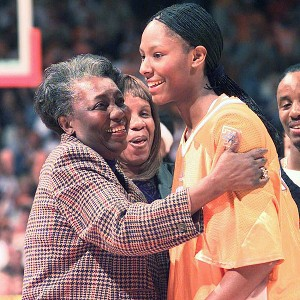 Chamique Holdsclaw's depression was triggered by the death of her grandmother in June 2002.