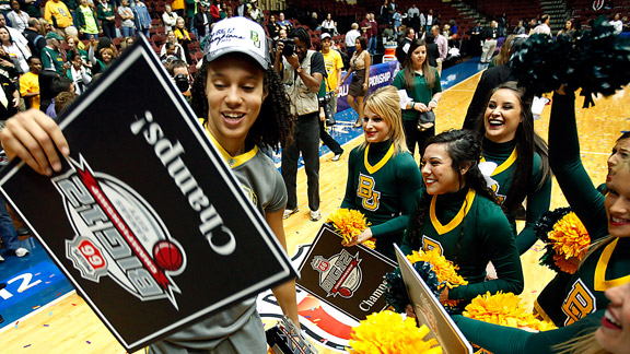 Brittney Griner and the Lady Bears survived the regular season undefeated, but can they complete the tournament in the same fashion? The next two weeks will tell.