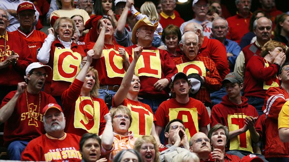 Ames offers just the right environment for Iowa State's women to capture the community's interest.