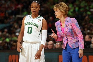 Odyssey Sims and Kim Mulkey