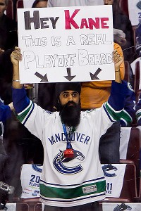 Playoff beards have been popular since the late '80s, and fans have even been known to get in on the act.