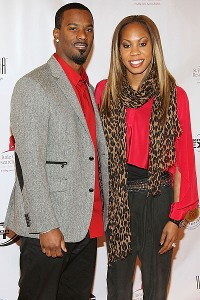 Sanya Richards-Ross, who won Olympic gold medals in 2004 and 2008, will have her husband, Aaron Ross, with her in London, thanks to the Jacksonville Jaguars.