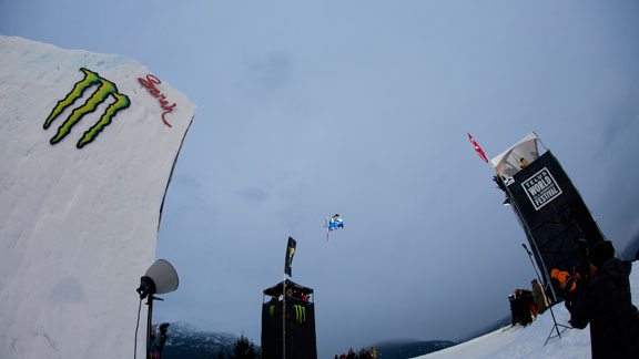 Saturday's big air win cements Gus Kenworthy's overall AFP title.