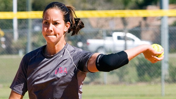 Cat Osterman says she doesn't expect her players to pitch the same way she does, but won't lower expectations simply because they are pitching for a Division II school.