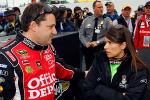 Tony Stewart, Danica Patrick's Sprint Cup team owner, said he'd support a double effort by Danica; he's tried it twice himself.