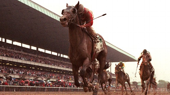 Julie Krone won 3,704 races during her career, but the 2 1/2 minutes aboard Colonial Affair at the 1993 Belmont Stakes cemented her legend.