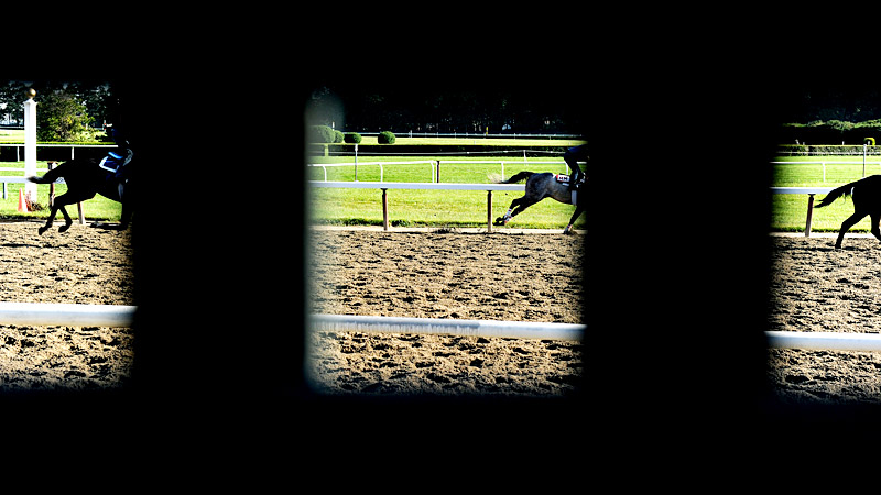 144th Belmont Stakes practice