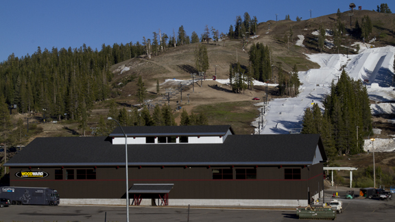 Woodward's newest facility opened its doors at California's Boreal Mountain Resort this weekend.