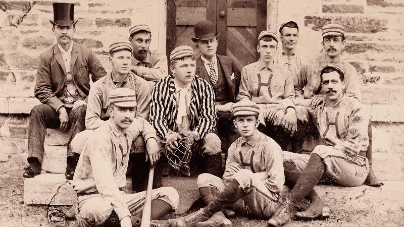 Hamilton Baseball - 1888