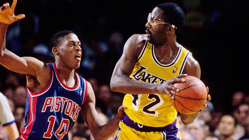 James Worthy 1988 NBA Finals