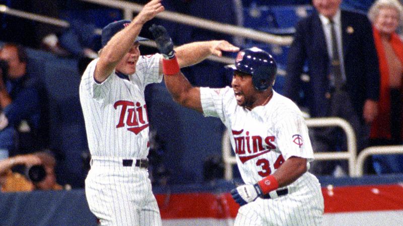 Kirby Puckett 1991 World Series