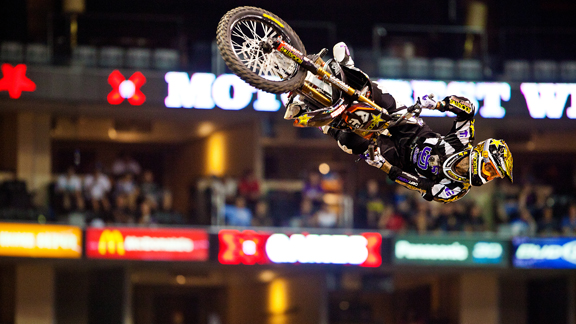 Jeremy Twitch Stenberg's focus has shifted to more freeriding in the past year, but he will return for Moto X Speed & Style at X Games Los Angeles.