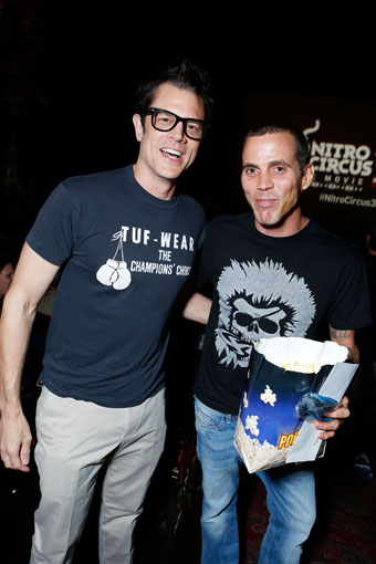 Johnny Knoxville, Steve-O