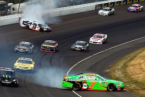 Controversy brewed in Michigan on June 16 when Austin Dillon prompted a Danica Patrick spin, one of three she had on the day.