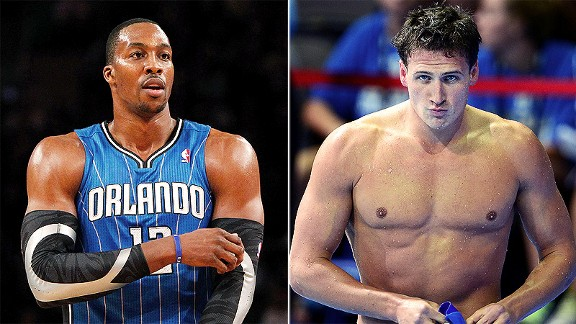 No. 1 seeds Dwight Howard and Ryan Lochte face some tough competition in the Bracket of Awesome.