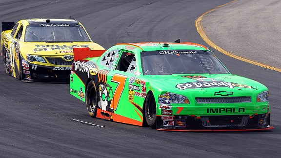 Danica Patrick admitted flat tracks like New Hampshire Motor Speedway are a weakness, and there were lessons to learn Saturday.