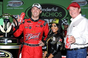 Nicole 'Snooki' Polizzi also has spent time in the NASCAR world. Kevin Harvick and Richard Childress hung out with the reality TV star in September 2011.