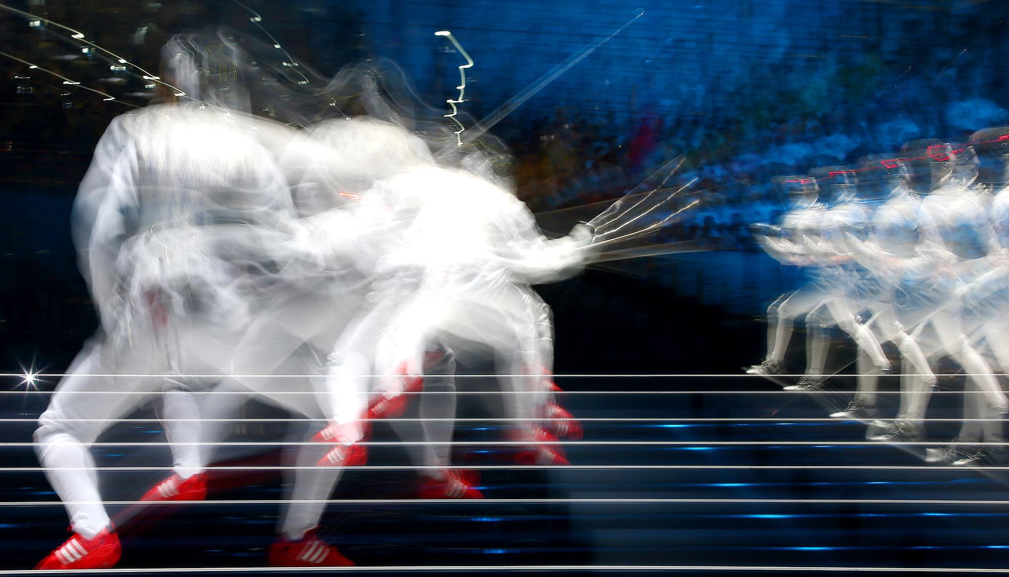 Women's Foil Individual Fencing