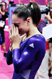 Jordyn Wieber won't be a part of the women's all-around competition after failing to qualify.