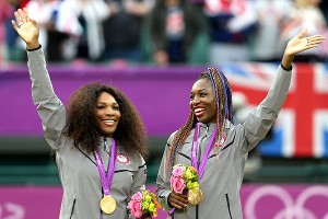 Venus Williams' singles play has been spotty, but she continues to shine in doubles with her sister Serena, including winning the gold medal at the London Olympics.
