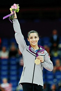 Aly Raisman captained the gold-medal-winning U.S. team in the London Games and took home an individual gold on the floor exercise and bronze on the beam.