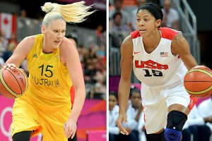 Lauren Jackson and Candace Parker are familiar with each other after facing off most summers in the WNBA.