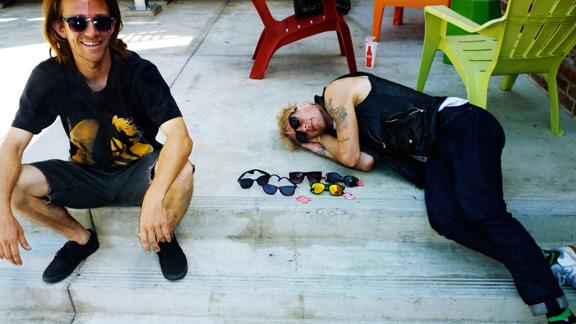 Happy Hour homies: Bryan Herman and Braydon Szafranski