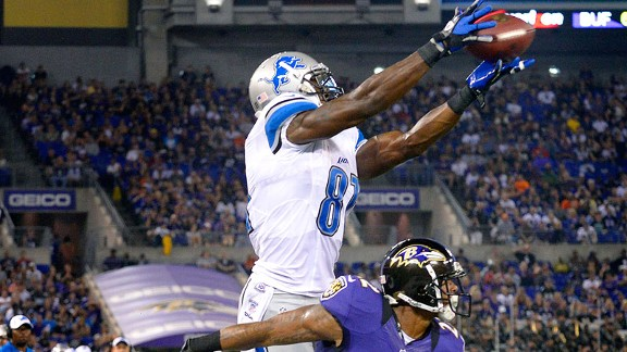Already this preseason, Johnson has made leaping grabs look easy.