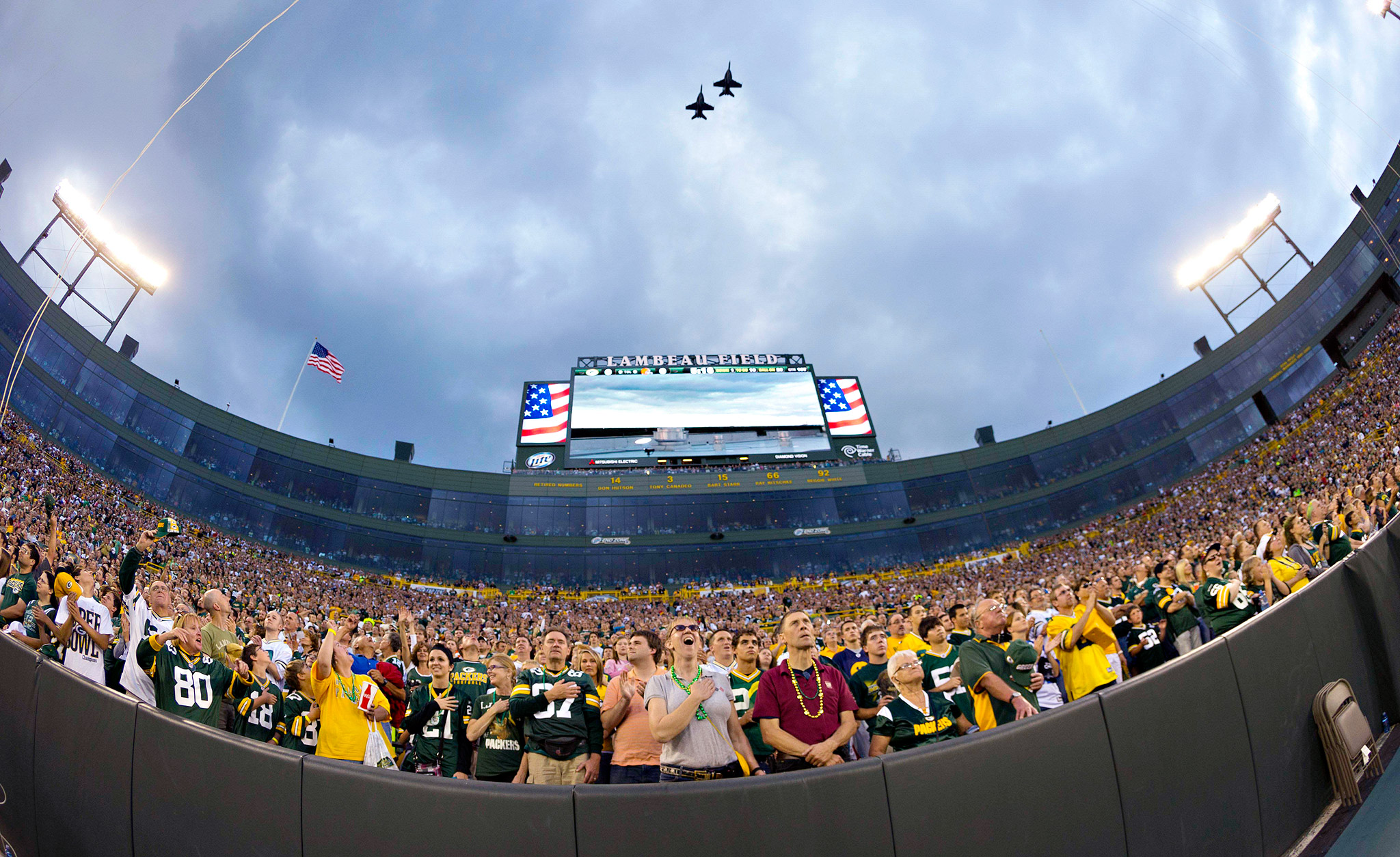 Lambeau Flyover