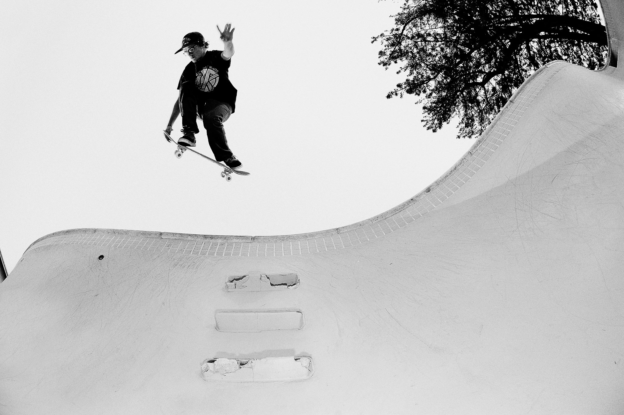 Ben Raybourn, backside air