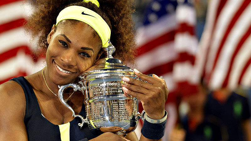 Serena Williams is hoping to join Steffi Graf and Margaret Court as five-time winners at the US Open.