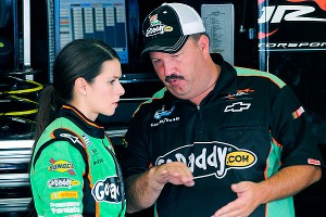 JR Motorsports parted ways with Danica Patrick's Nationwide crew chief Tony Eury Jr. on Monday.