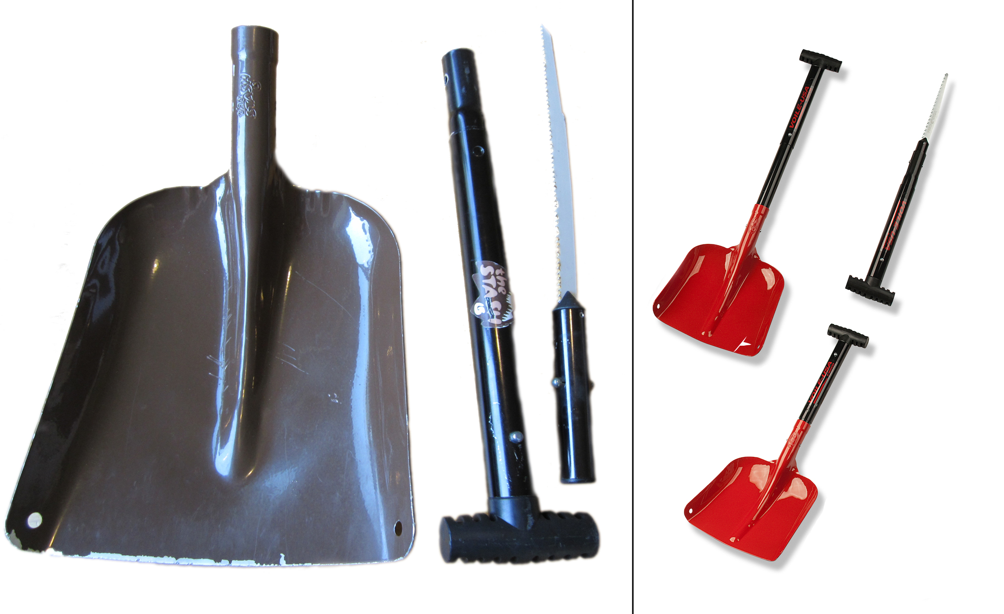 Shovel: Voile T-Wood avalanche shovel