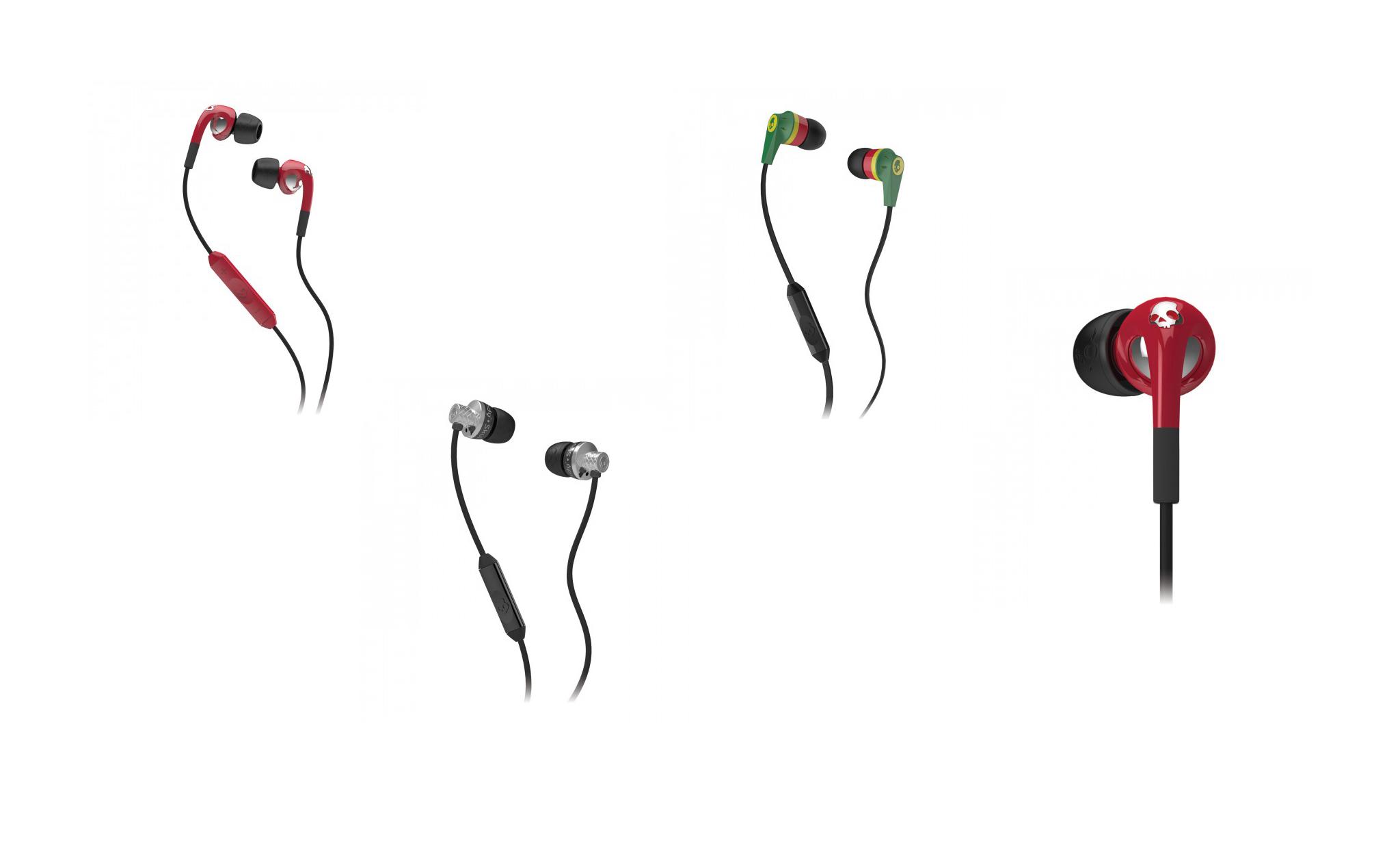 Headphones: Skullcandy Fix In-Ear with Mic