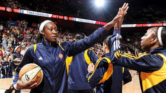 Tina Charles was strong from beginning to end, leading in Connecticut to an East-best 25-9 record and top seed in the Eastern Conference.