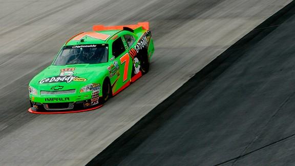 Danica Patrick remained 11th in driver points with five races left in her first full Nationwide season.