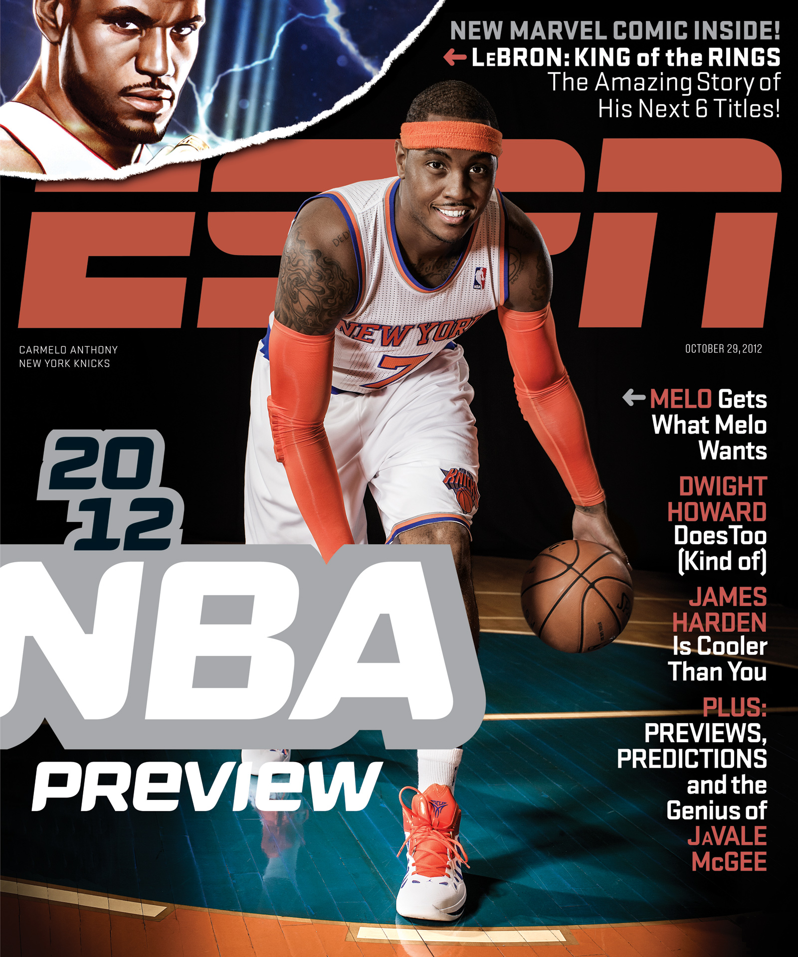 ESPN The Magazine's NBA Preview Issue