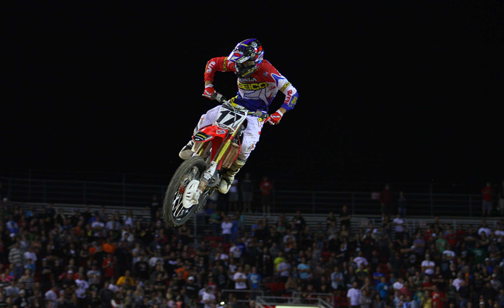 Tomac Finishes Third