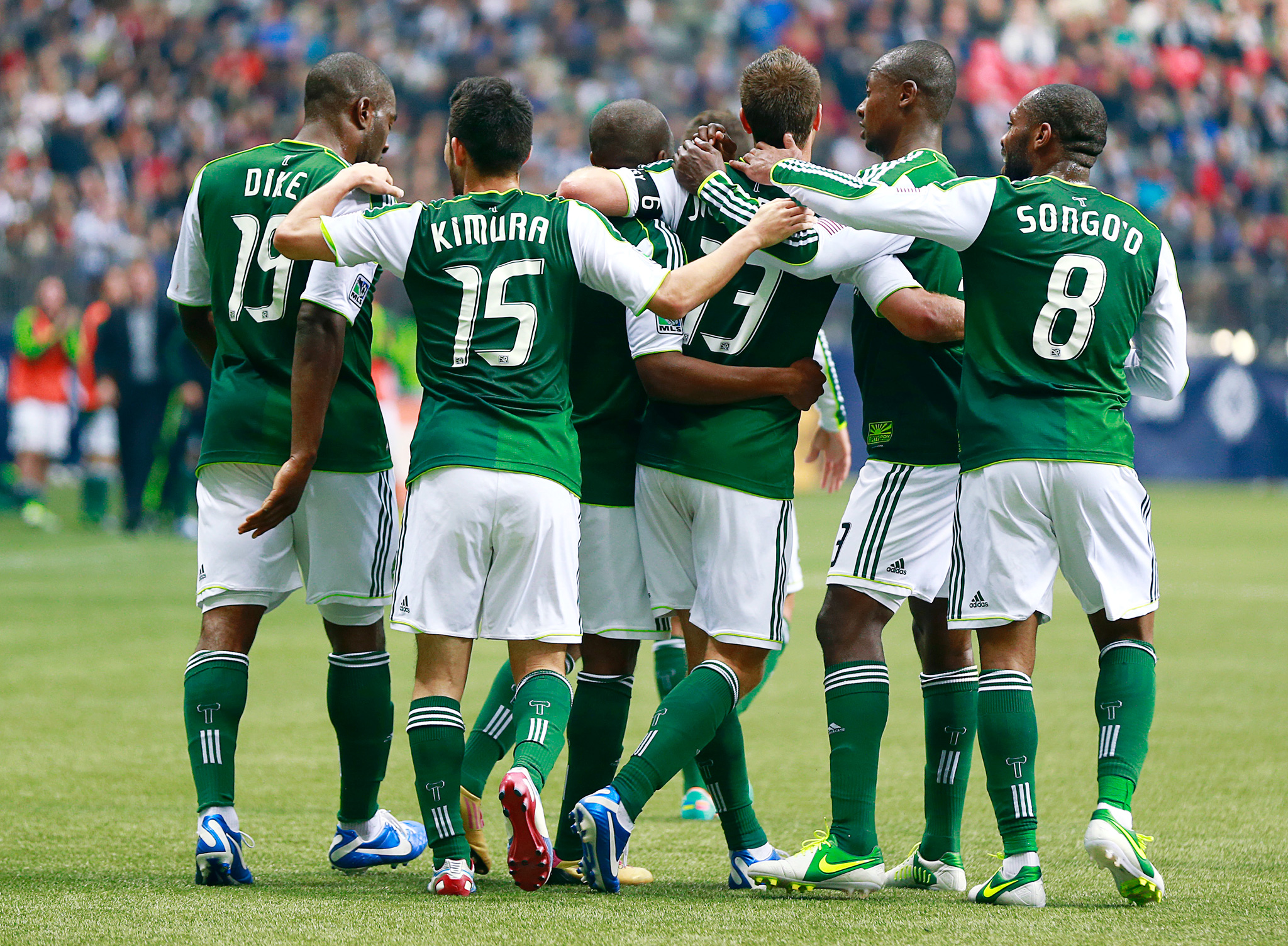 Timbers Celebrate Cascadia Cup