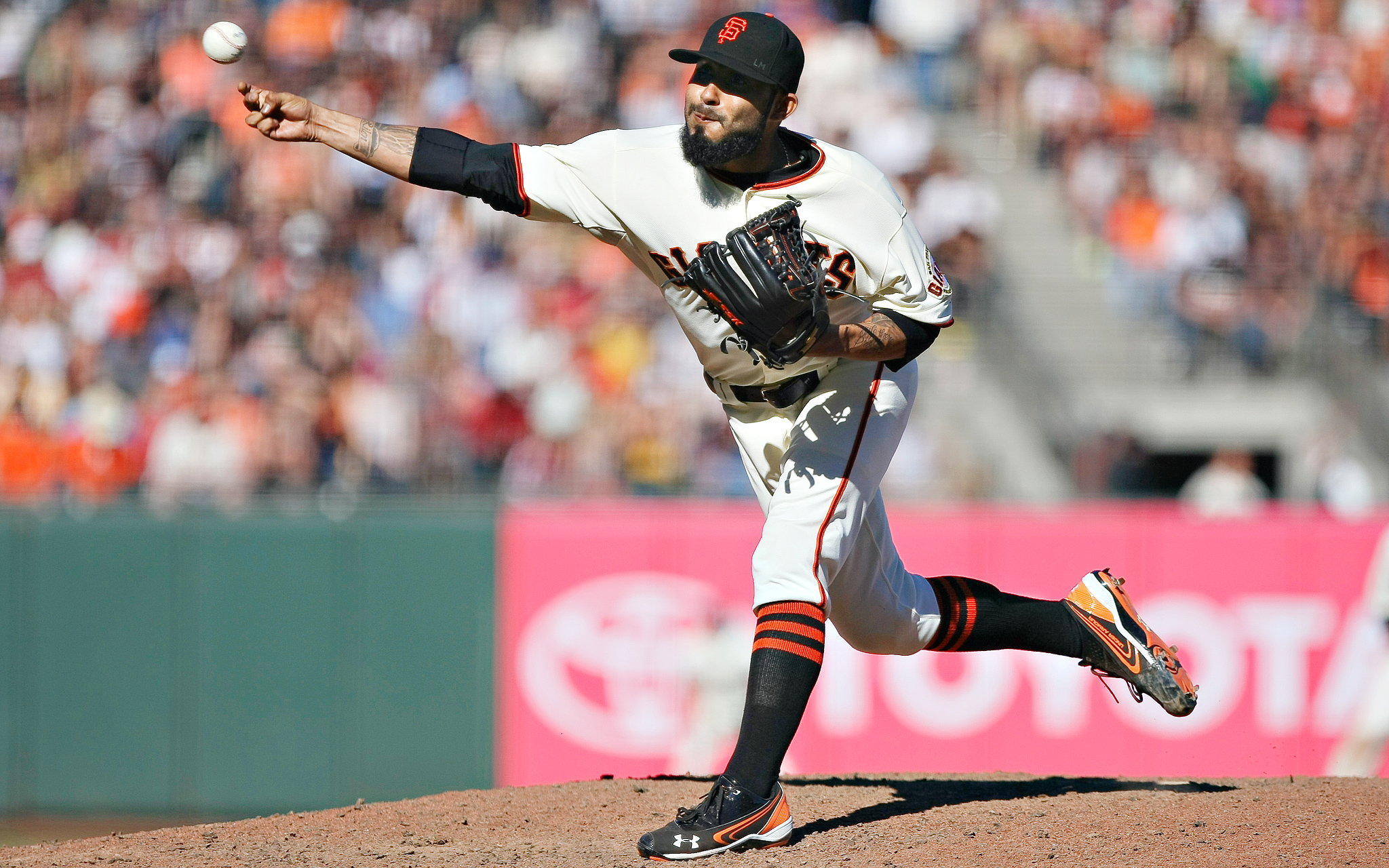 Best Breaking Ball: Sergio Romo