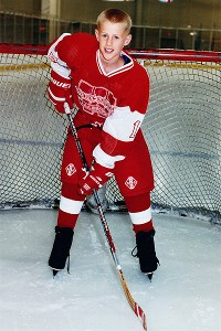 Watt played youth hockey, but had to give it up at age 13 because of the cost.