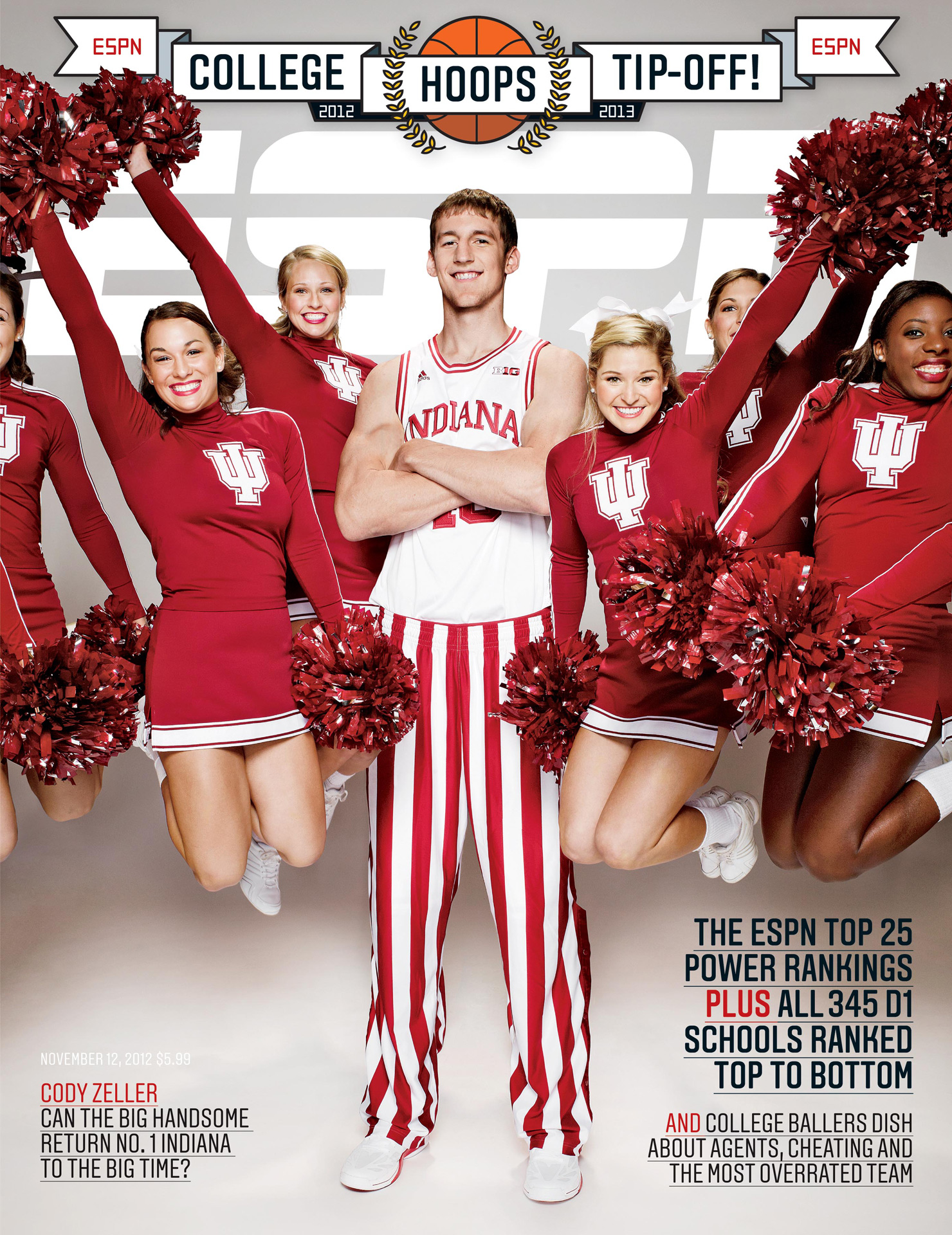 ESPN The Magazine' College Hoops Tip-Off Issue