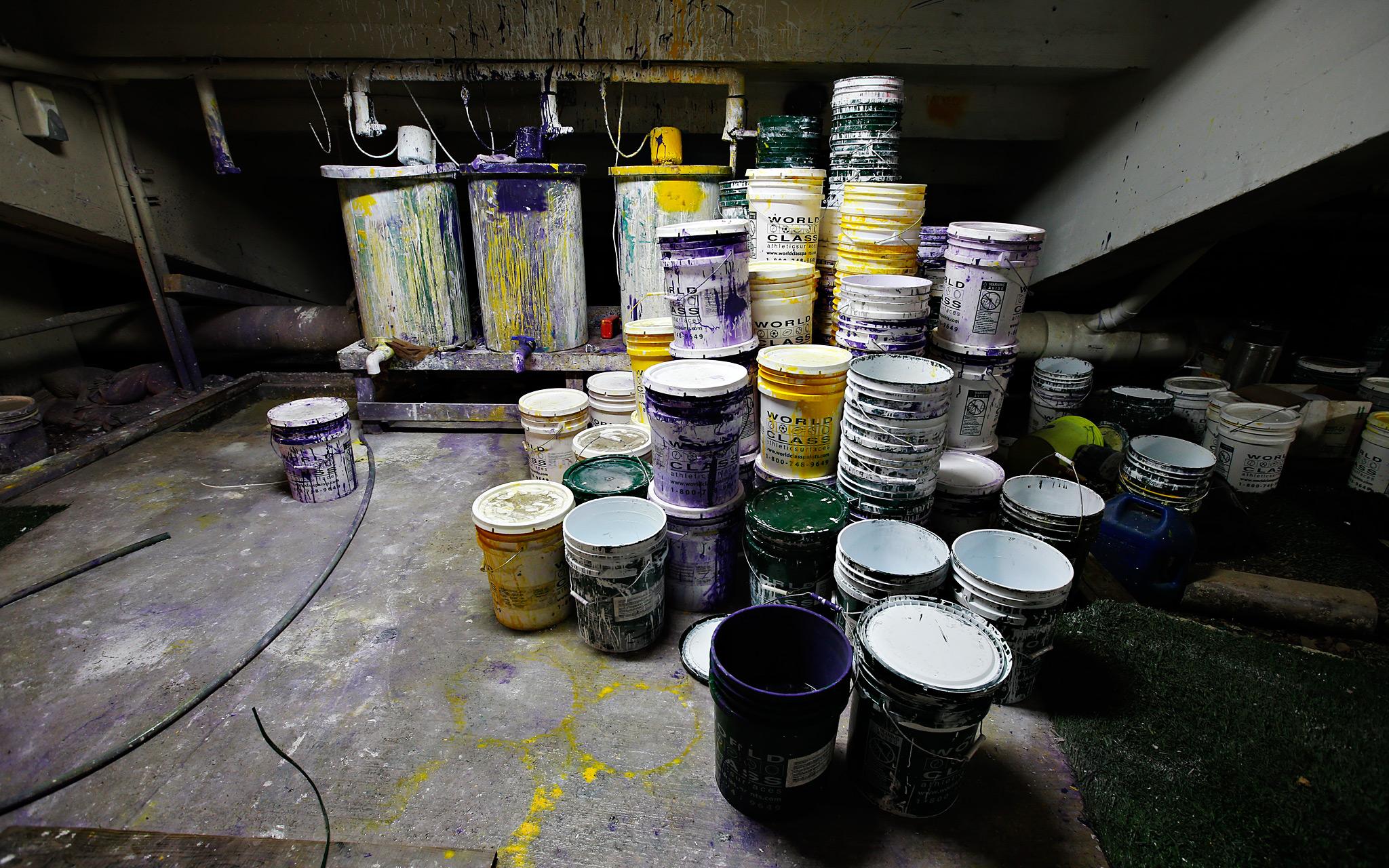 Paint Barrels