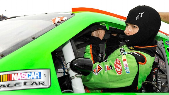 Danica Patrick has a yearlong program designed to increase strength and endurance through a long racing season.