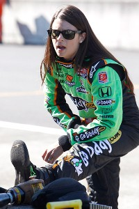 Though her trainer would not divulge specifics, he said Danica Patrick's workout program is different than most.