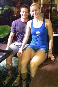 Jessica Hardy and Dominik Meichtry