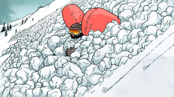 Avalanche airbag sales spiked last winter.