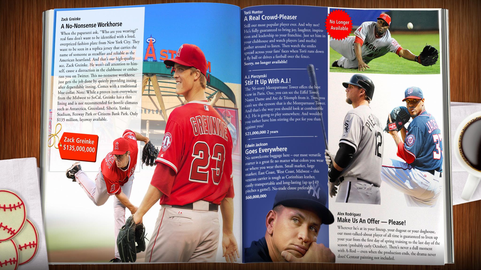 Jim Caple's Hot Stove League Holiday Catalog