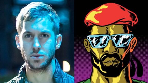 Calvin Harris, left, will perform Jan. 26 at X Games Aspen, with Major Lazer on Jan. 27.