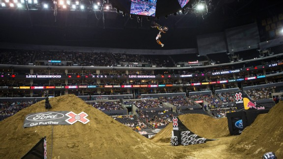 Levi Sherwood and Moto X riders won't get to compete in Freestyle in Los Angeles, but three other X Games cities will have the event as part of their lineup.